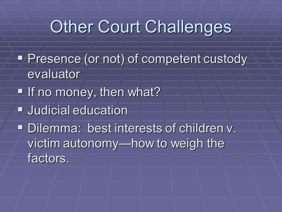 Other Court Challenges