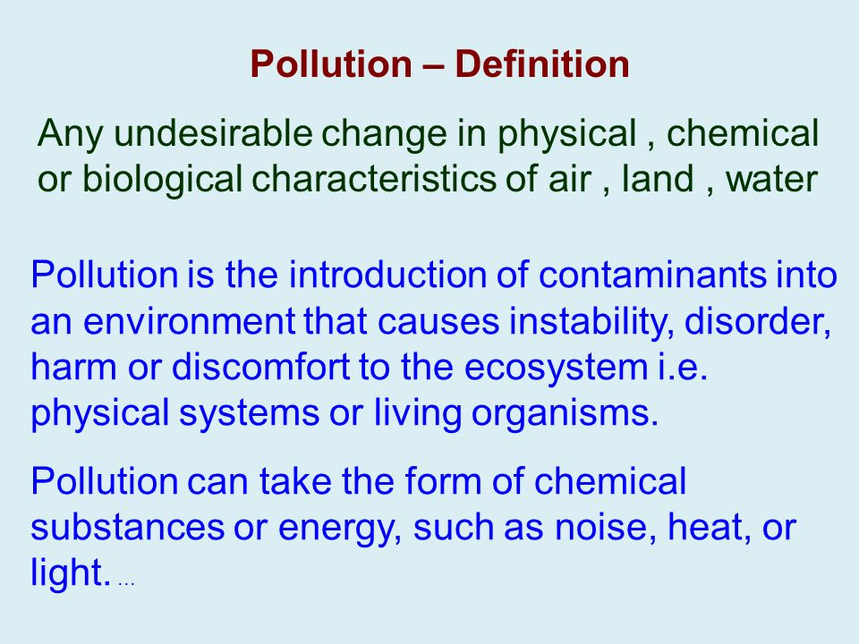 2 6 biosphere level whole living layer around the globe for Soil pollution definition