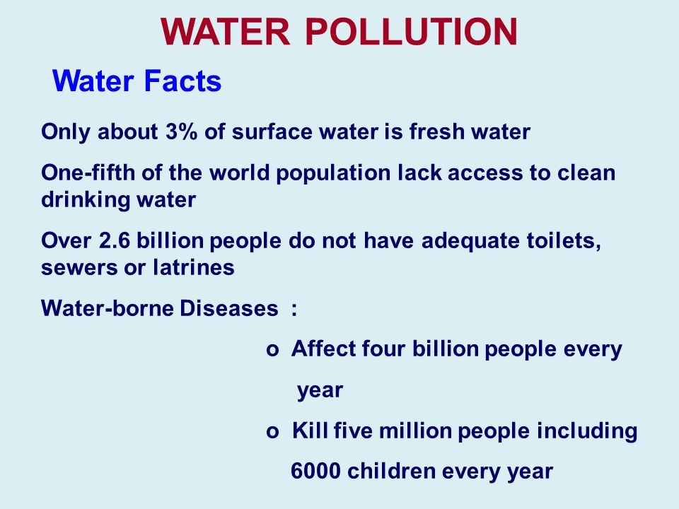 clean drinking water facts - photo #32