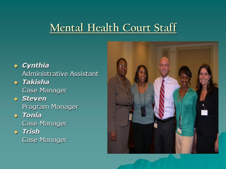 Mental Health Court Staff
