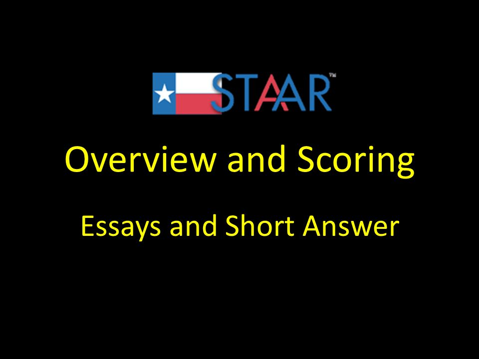 short answer essays Included with the common application, coalition application, and georgia tech  questions is one long essay and two short answer essays the purpose of the.