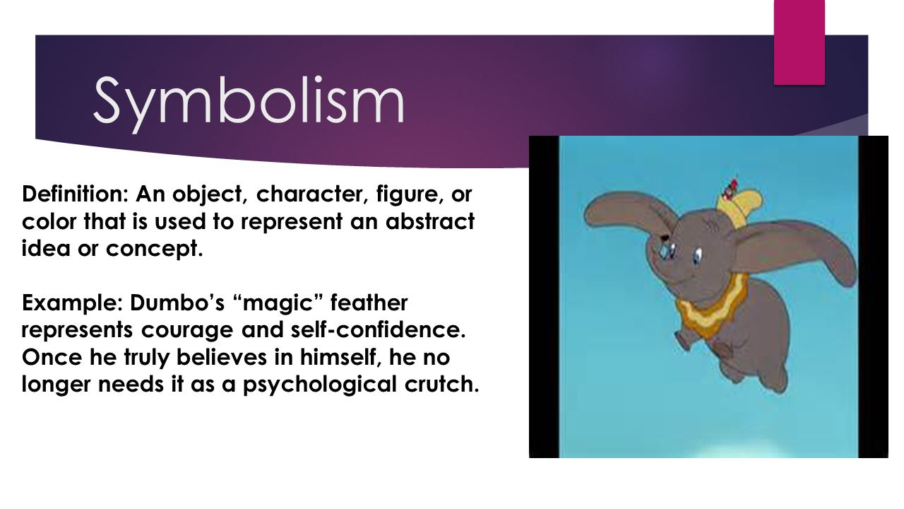 fancy literary techniques explained by disney ppt video  3 symbolism