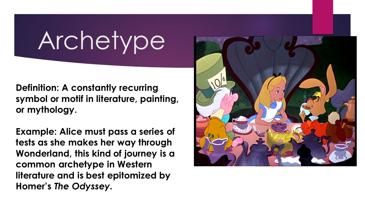 14 fancy literary techniques explained by disney ppt video archetype definition a constantly recurring symbol or motif in literature painting or mythology biocorpaavc