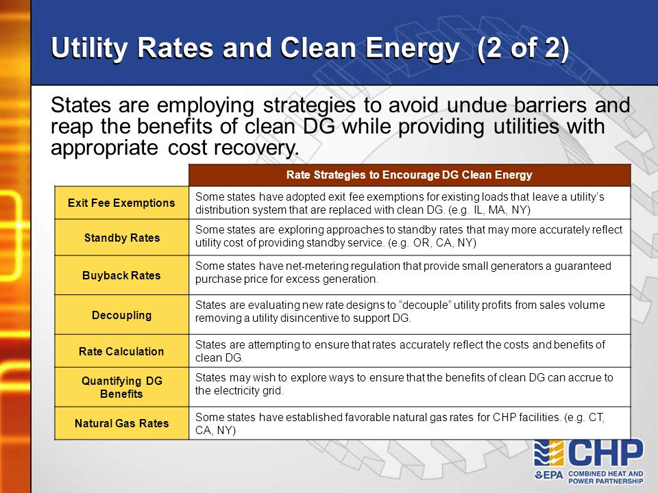Utility Rates and Clean Energy (2 of 2)