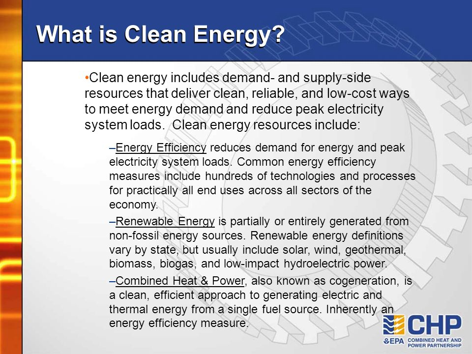 What is Clean Energy