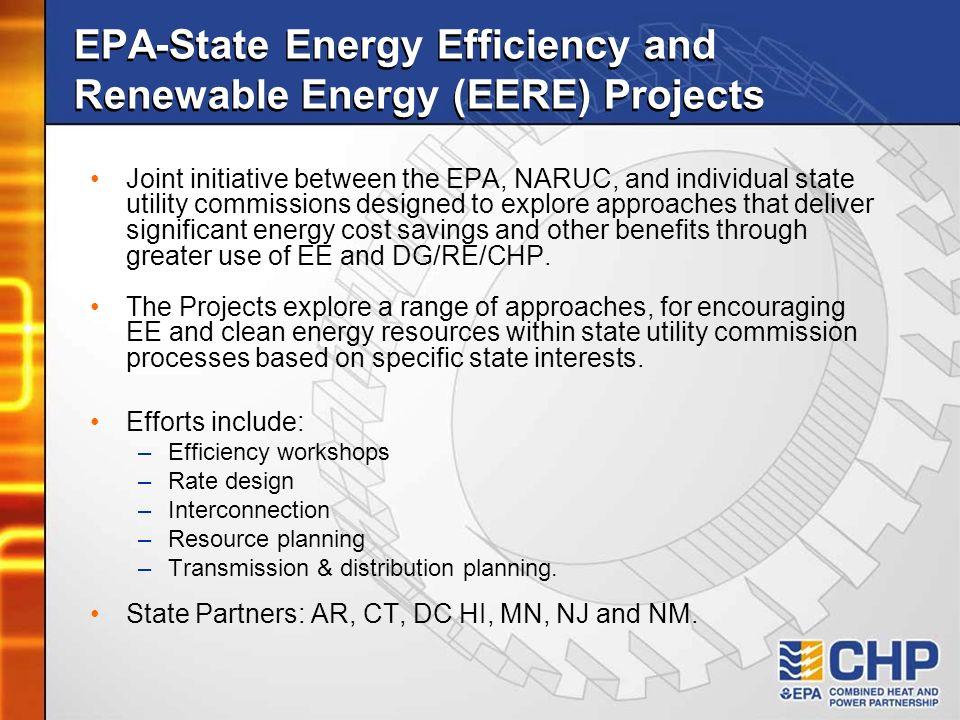 EPA-State Energy Efficiency and Renewable Energy (EERE) Projects
