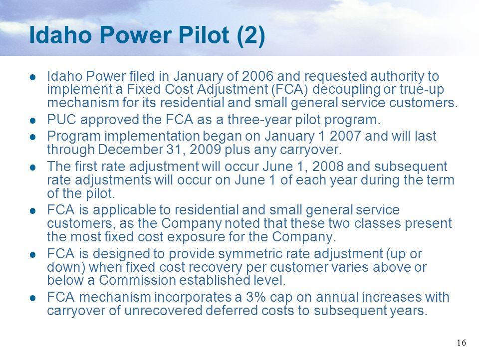 Idaho Power Pilot (2)