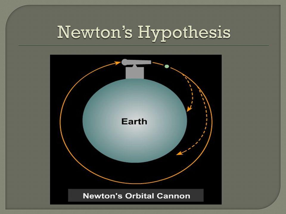 Newton's Hypothesis