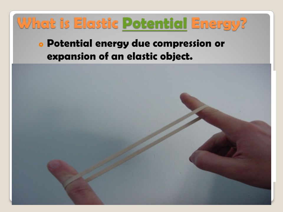 What is Elastic Potential Energy