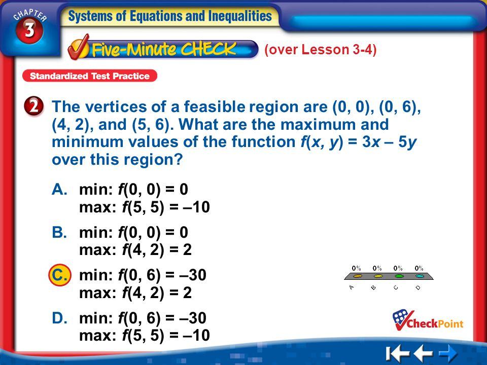 (over Lesson 3-4)