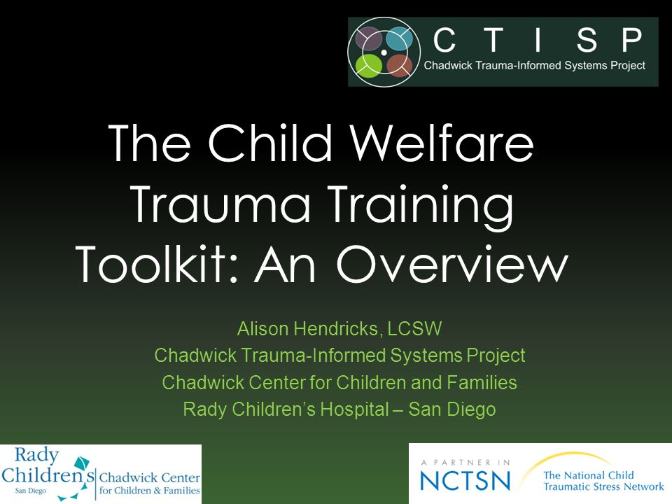 The Child Welfare Trauma Training Toolkit: An Overview