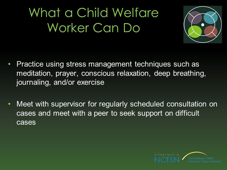 What a Child Welfare Worker Can Do