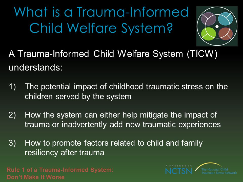 What is a Trauma-Informed Child Welfare System