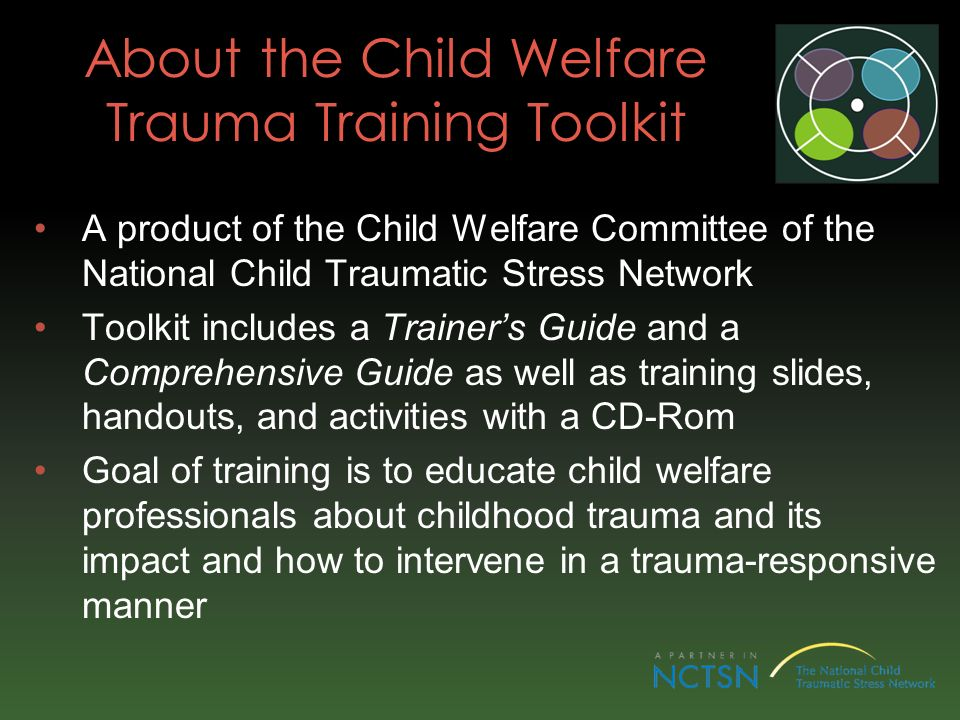 About the Child Welfare Trauma Training Toolkit