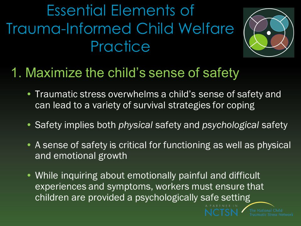 Essential Elements of Trauma-Informed Child Welfare Practice