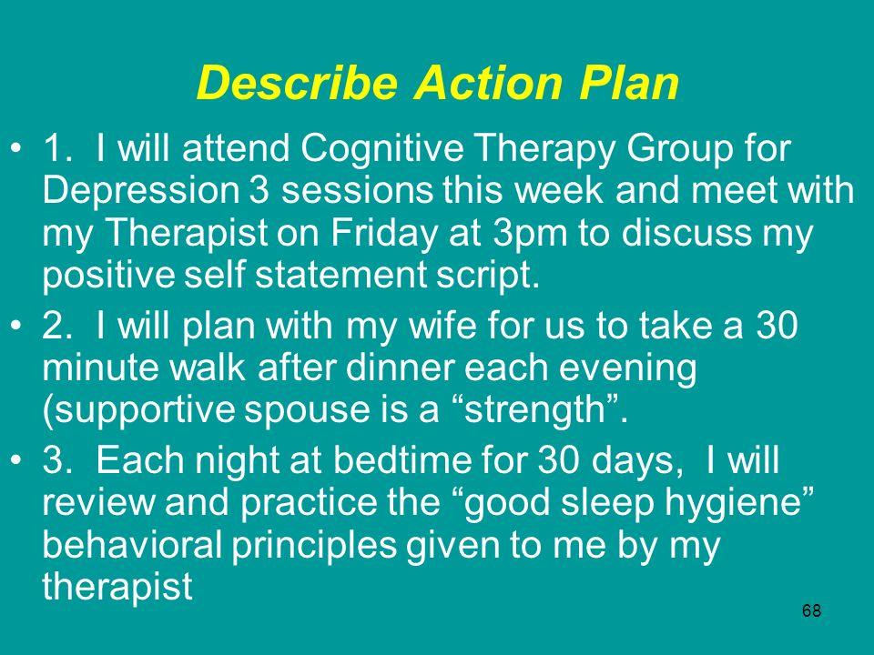 Describe Action Plan
