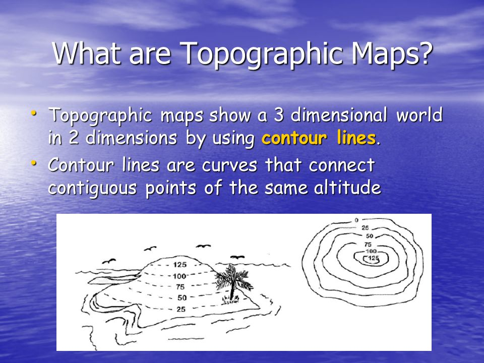 What are Topographic Maps