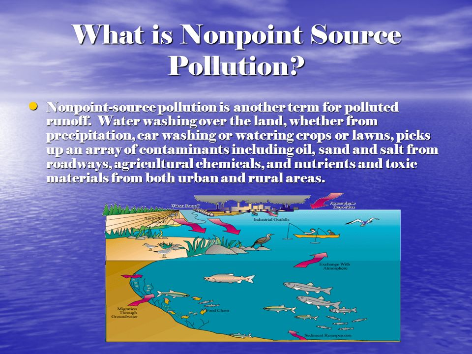 What is Nonpoint Source Pollution