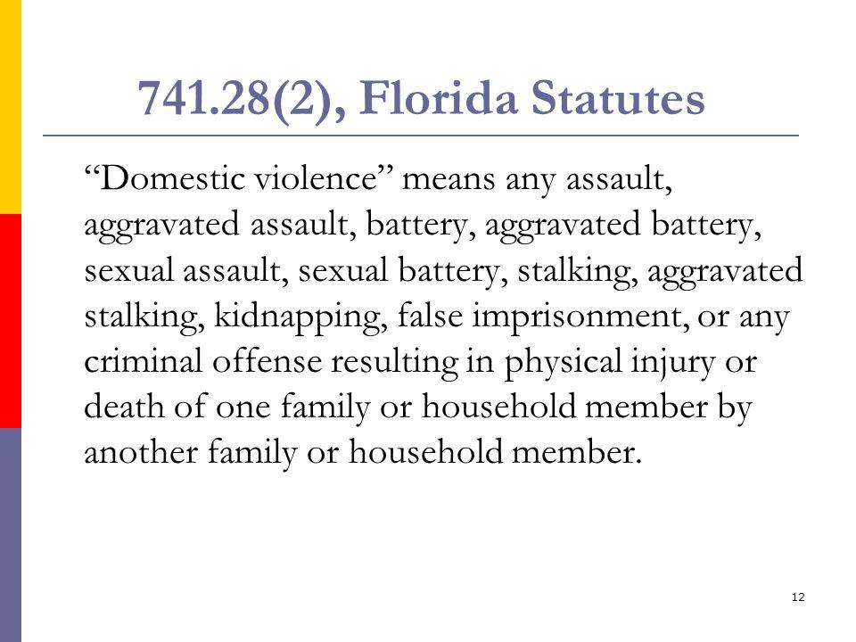 741.28(2), Florida Statutes
