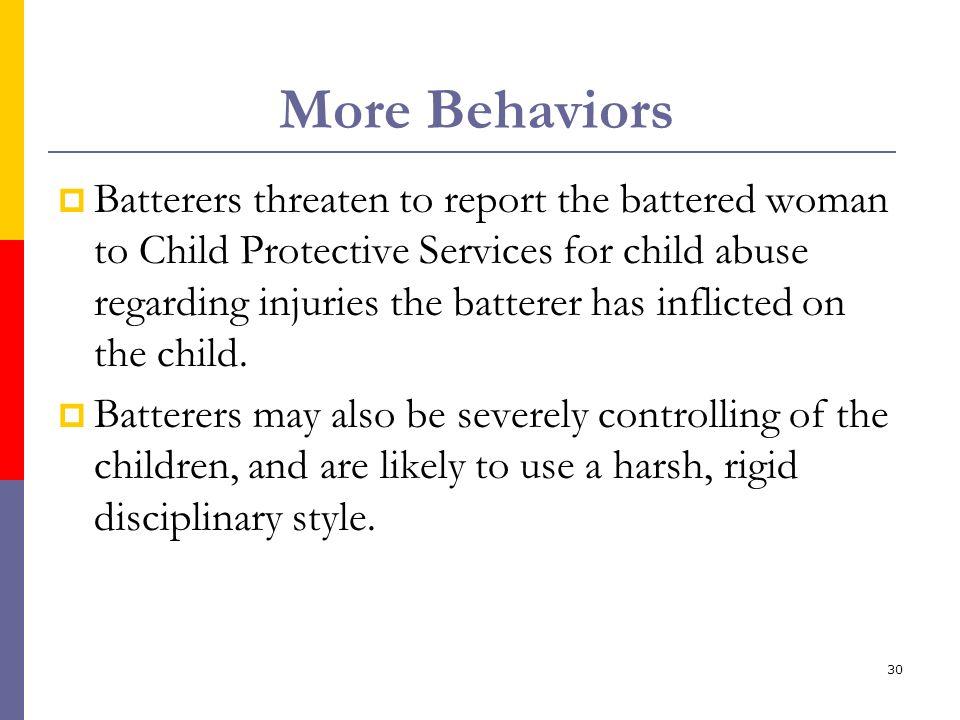 More Behaviors