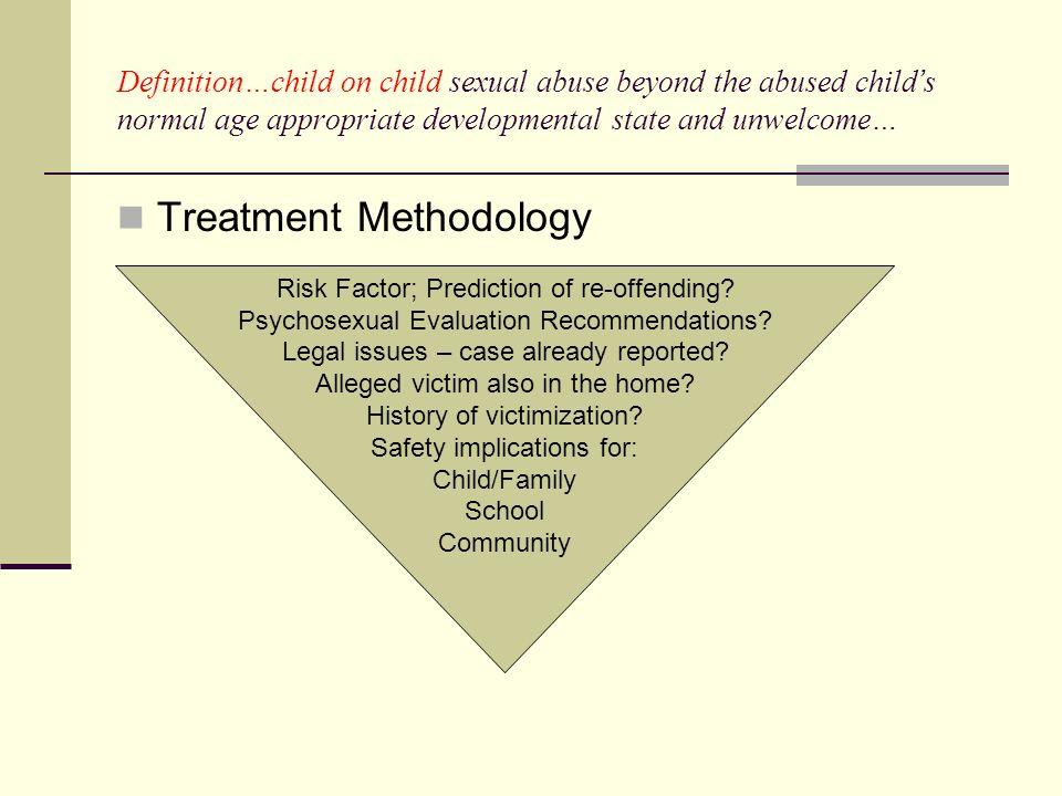 Treatment Methodology