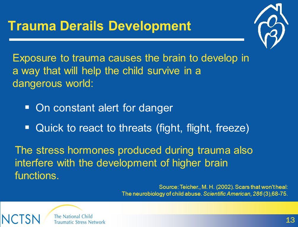 Trauma Derails Development