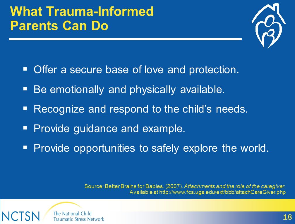What Trauma-Informed Parents Can Do