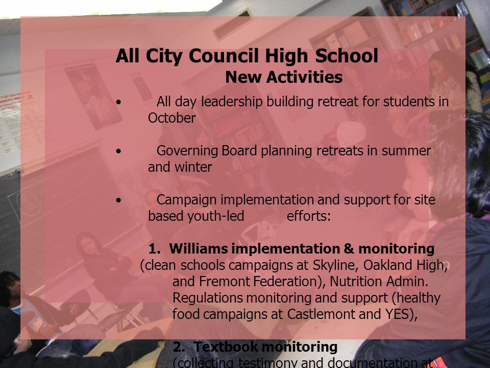 All City Council High School