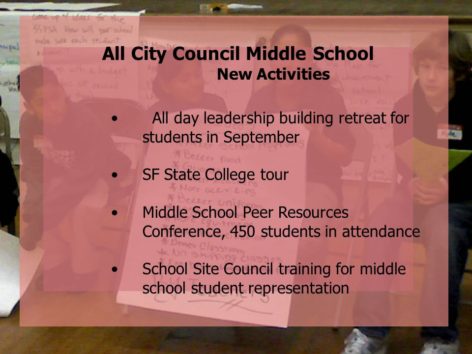 All City Council Middle School