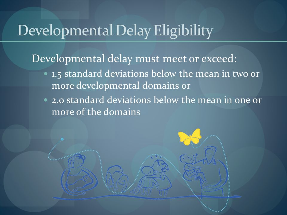 Developmental Delay Eligibility