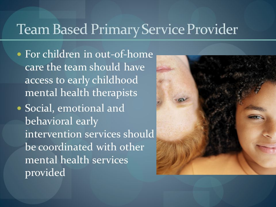 Team Based Primary Service Provider