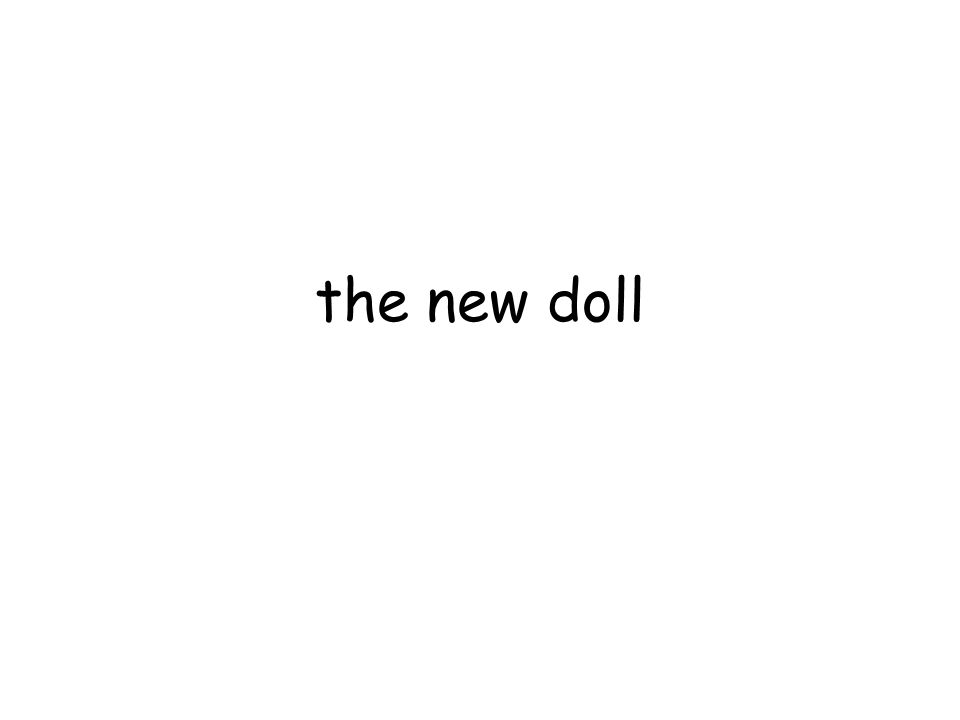 the new doll