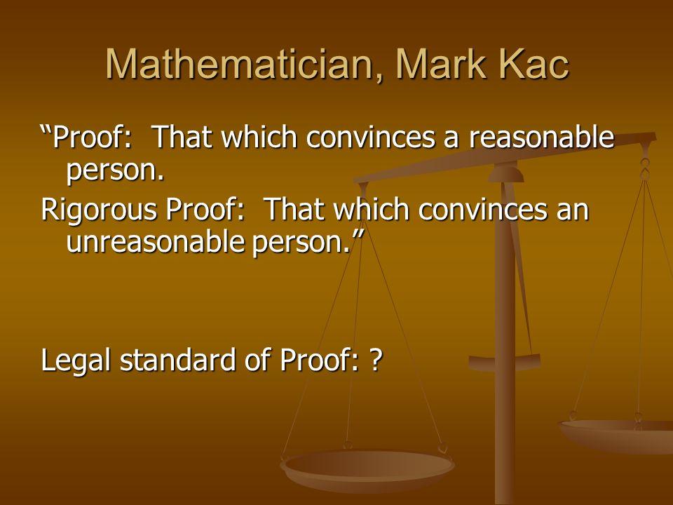 Mathematician, Mark Kac