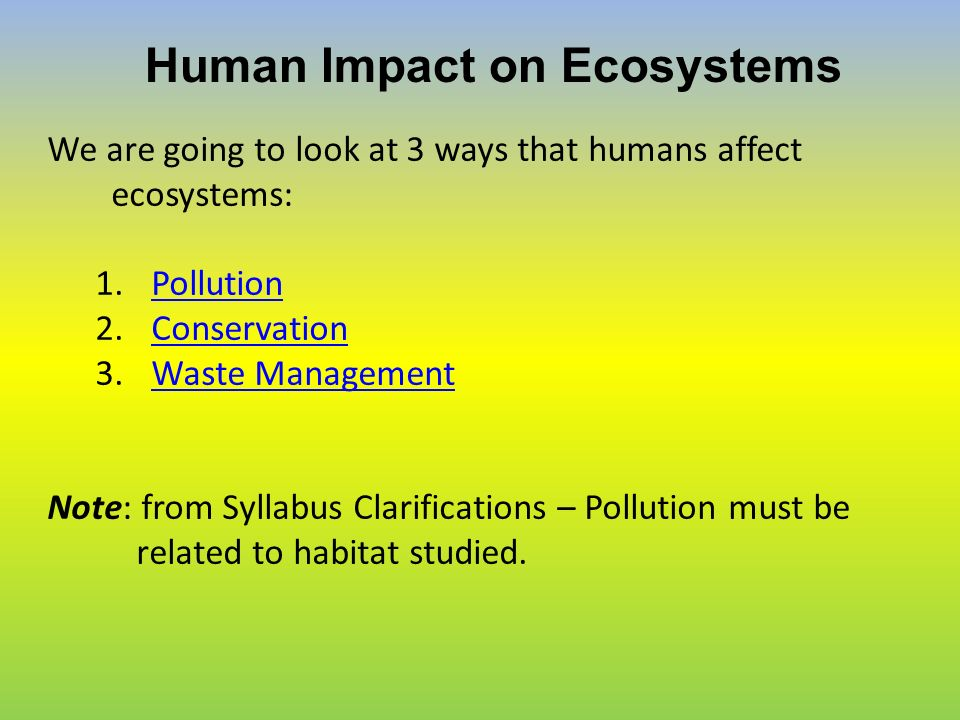 humans impact Humans impact the grassland savanna by lessening the area of the land by making new space for industrialization the trees and animals have less space to be so the.