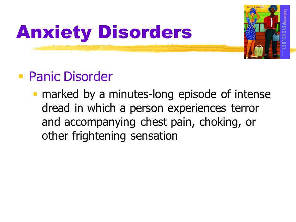 Anxiety Disorders Panic Disorder