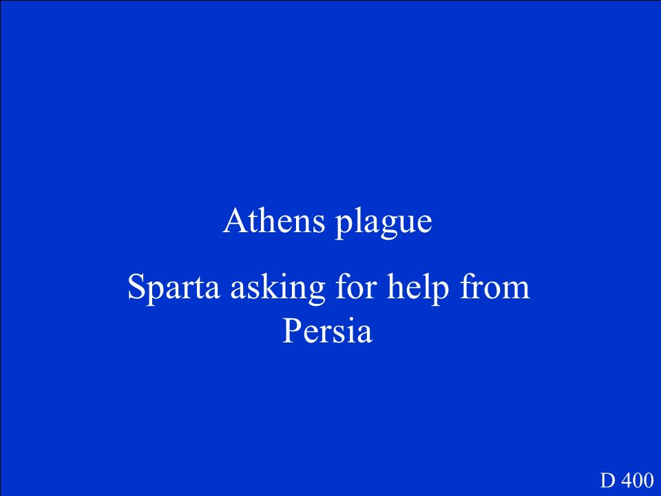 Sparta asking for help from Persia