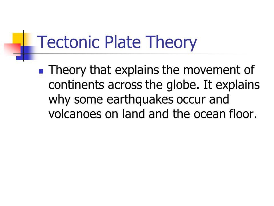 Tectonic Plate Theory