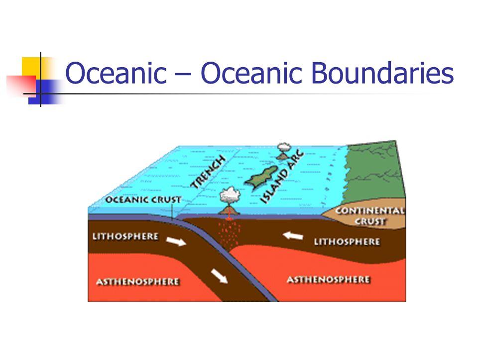 Oceanic – Oceanic Boundaries