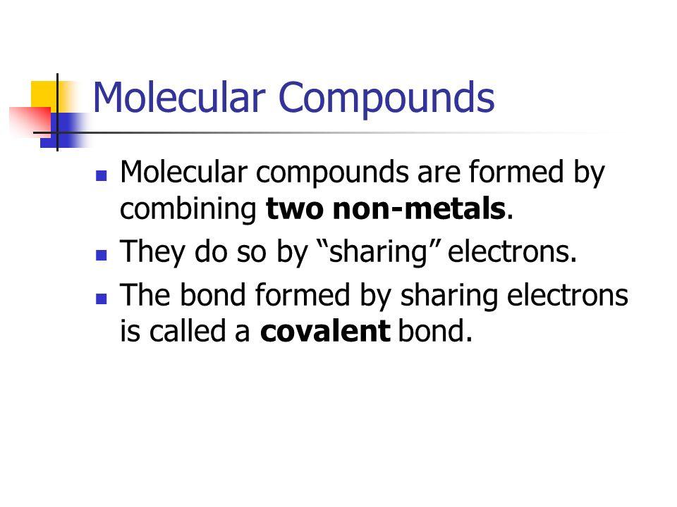 22 MOLECULAR COMPOUNDS p ppt download – Molecular Compounds Worksheet