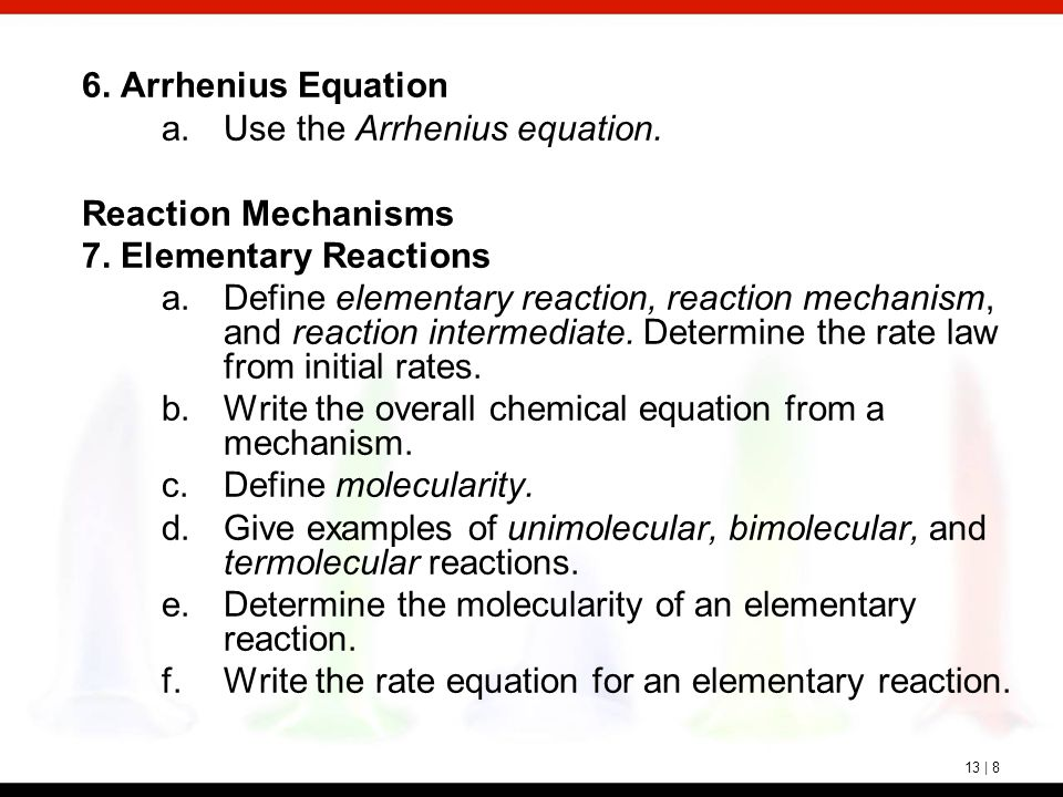 Chapter 12: Reaction Rates and Rate Laws