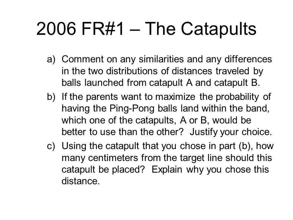 2006 FR#1 – The Catapults