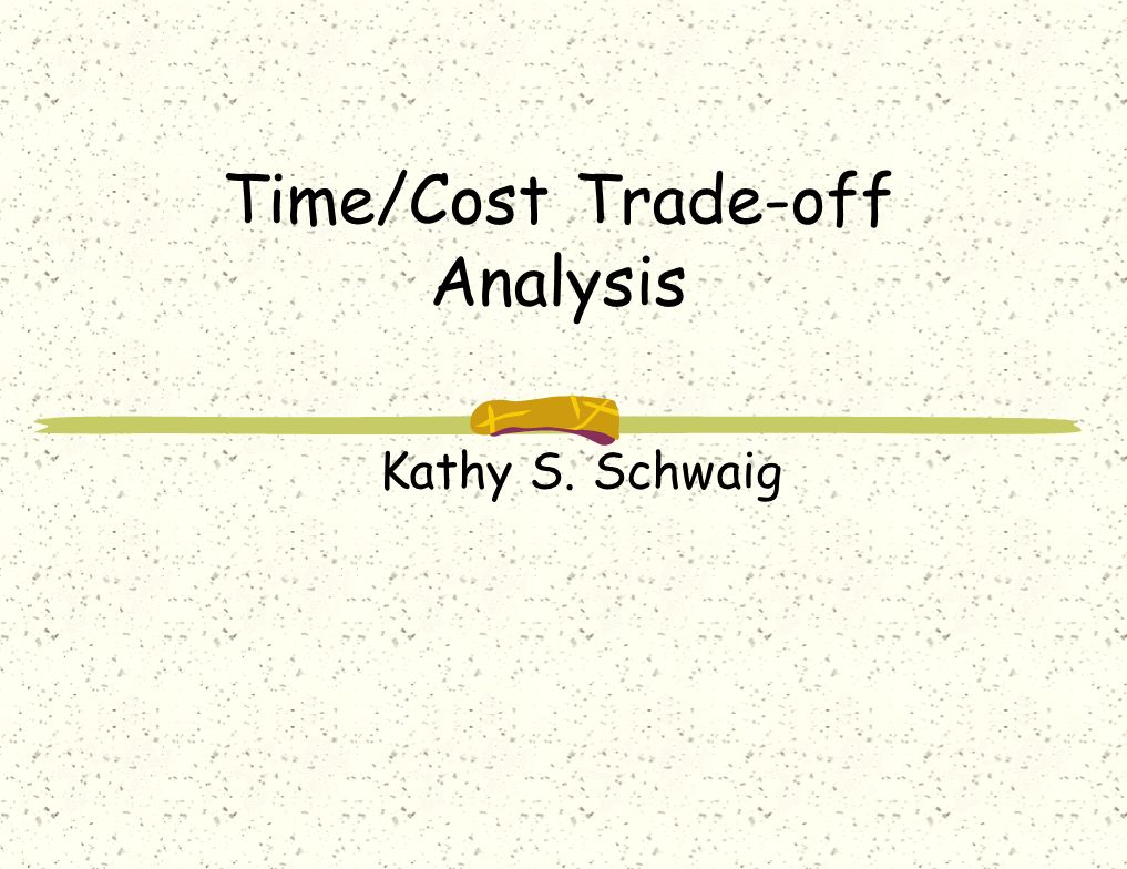 study of time and cost of Cost control techniques used on building construction  the world over have suffered from cost and time overruns  adequately filled for the study,.