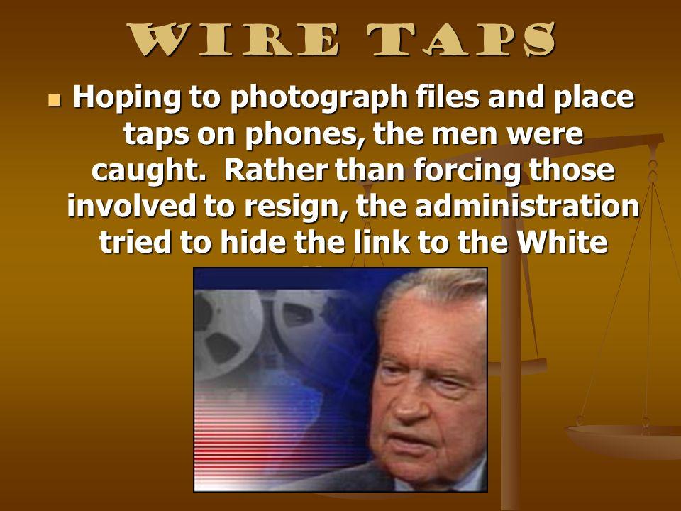 Wire Taps