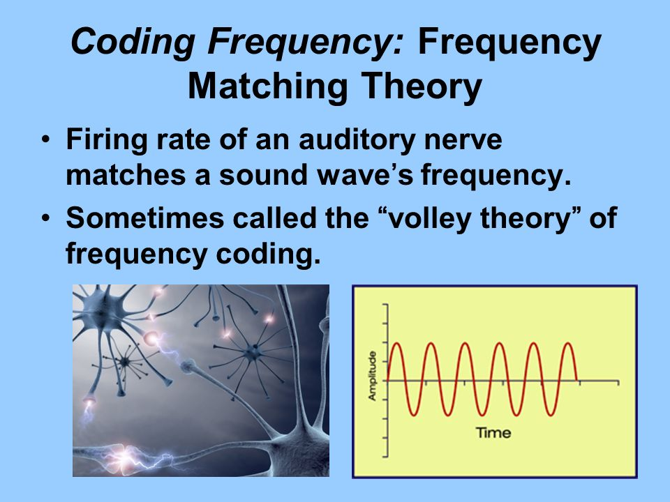 Coding Frequency: Frequency Matching Theory
