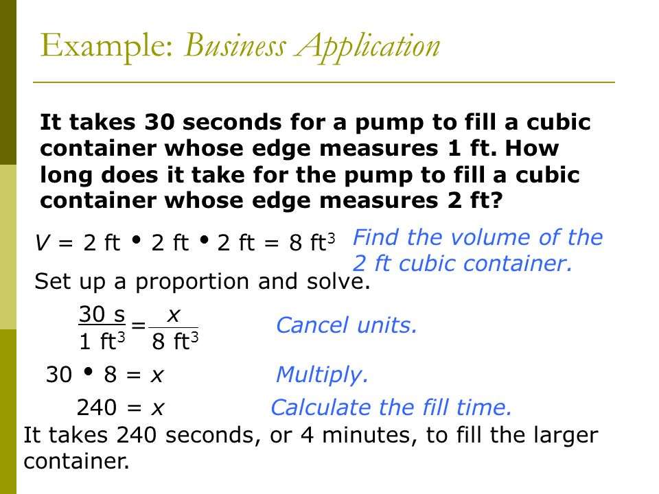 Example: Business Application