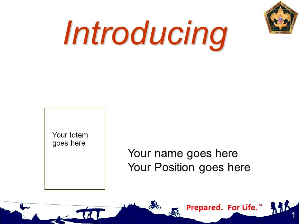 Introducing Your name goes here Your Position goes here