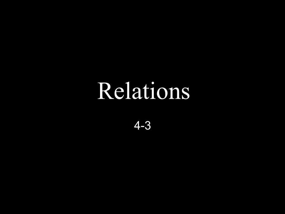 Relations 4-3