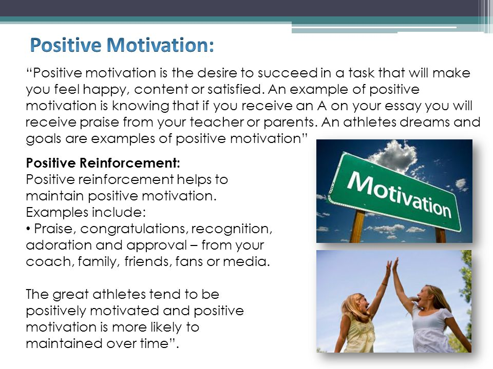 essay on motivation and performance