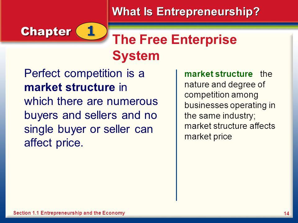 The Free Enterprise System