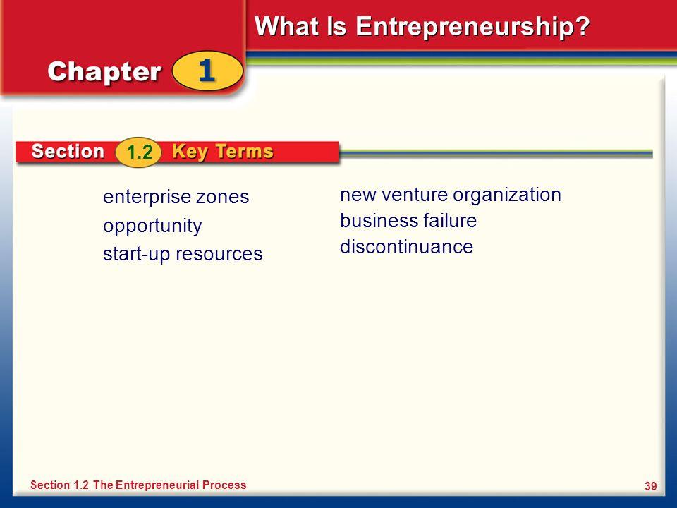 new venture organization business failure discontinuance